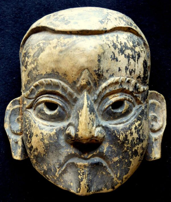 bien connu sortie de gros nouvelle version Antique 19thC Hand Carved Wood,Chinese Theatre Mask ...